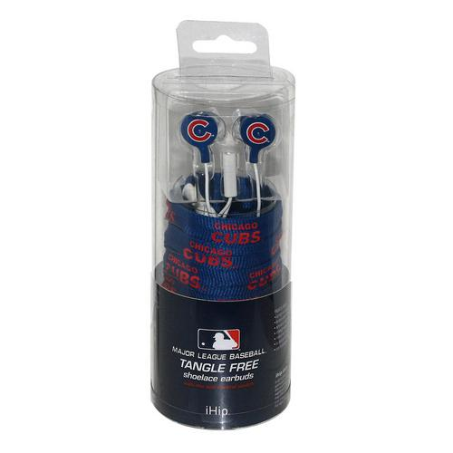 Shoelace Earbuds - Chicago Cubs