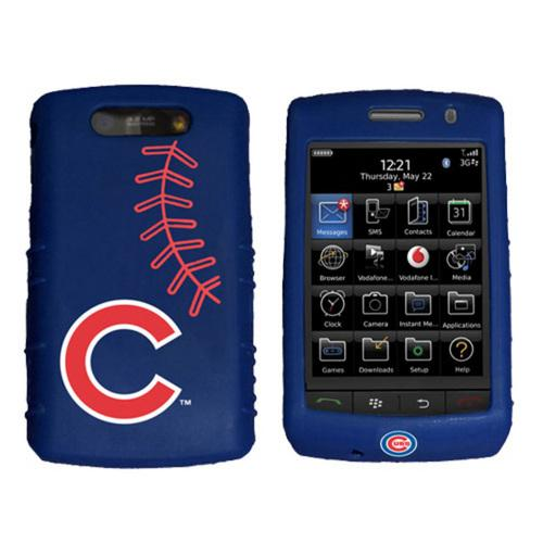 Cashmere Silicone Blackberry Storm Case - Chicago Cubs