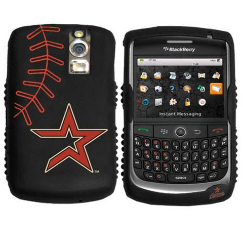 Cashmere Silicone Blackberry Curve Case - Houston Astros