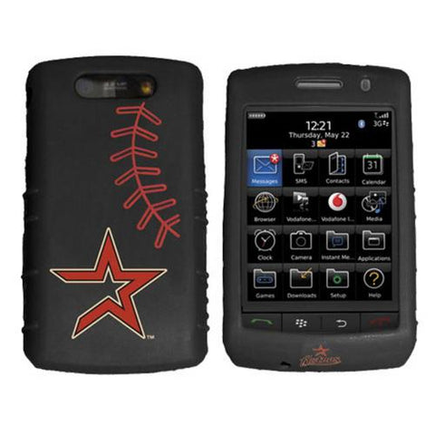 Cashmere Silicone Blackberry Storm Case - Houston Astros