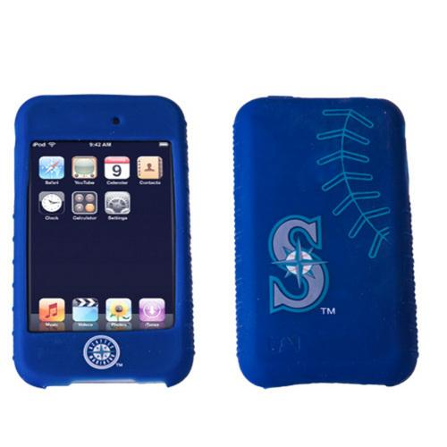 Cashmere Silicone Ipod Touch 2G Case - Seattle Mariners
