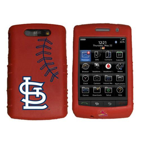 Cashmere Silicone Blackberry Storm Case - St.?Louis Cardinals