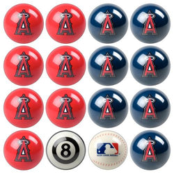 Los Angeles Angels MLB 8-Ball Billiard Set