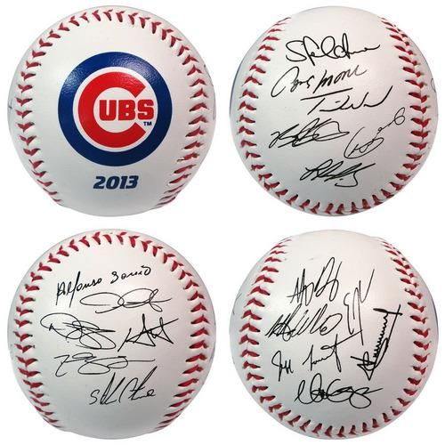 The Licensed Products MLB 2013 Team Roster Signature Ball - Chicago Cubs