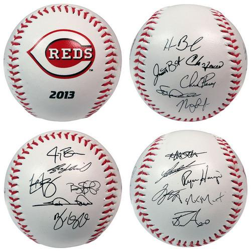 The Licensed Products MLB 2013 Team Roster Signature Ball - Cincinnati Reds