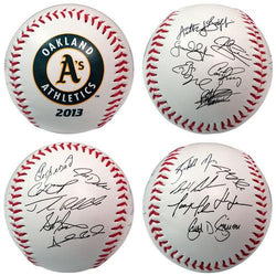 The Licensed Products MLB 2013 Team Roster Signature Ball - Oakland Athletics