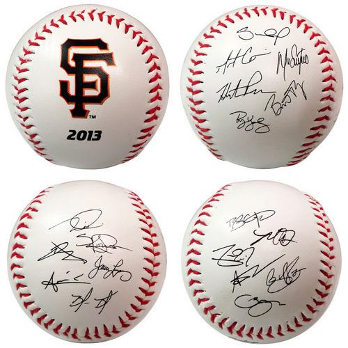 The Licensed Products MLB 2013 Team Roster Signature Ball - San Francisco Giants