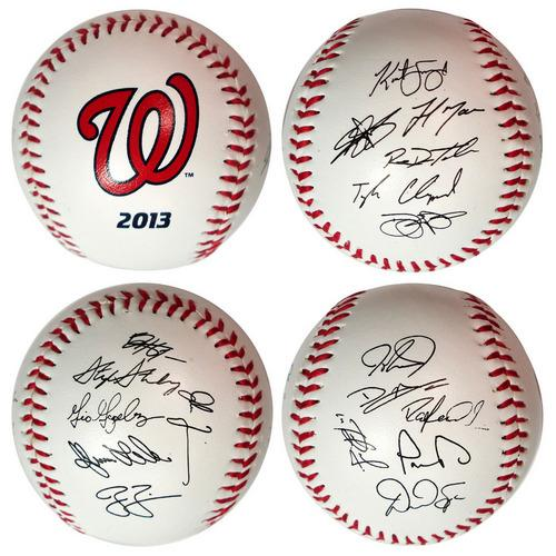 The Licensed Products MLB 2013 Team Roster Signature Ball - Washington Nationals