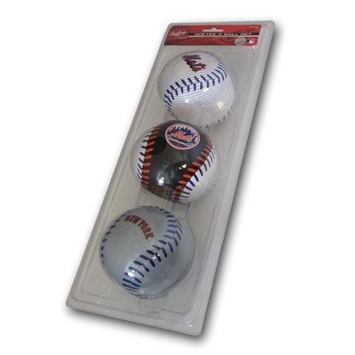 New York Mets 3 Ball Set