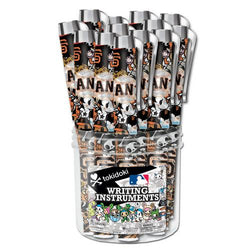 Ultra Logo 24 Pack Tokidoki Metallic Pen Canister  MLB San Francisco Giants