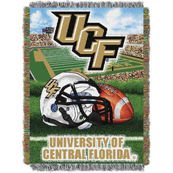 Central Florida Knights NCAA Woven Tapestry Throw (Home Field Advantage) (48x60