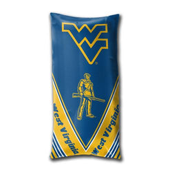 West Virginia Mountaineers NCAA Folding Body Pillow