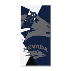 Nevada Wolf Pack NCAA Over-sized Beach Towel (Puzzle Series) (34in x 72in)