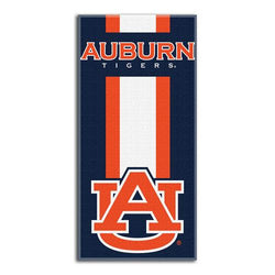 Auburn Tigers NCAA Zone Read Cotton Beach Towel (30in x 60in)