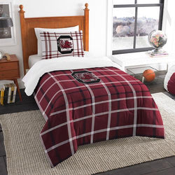 South Carolina Gamecocks NCAA Twin Comforter Set (Soft & Cozy) (64 x 86