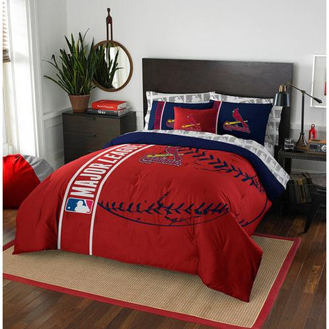 St. Louis Cardinals MLB Full Comforter Bed in a Bag (Soft & Cozy) (76in x 86in)