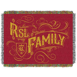 Real Salt Lake MLS Woven Tapestry Throw Blanket (48x60