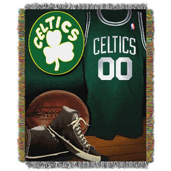 Boston Celtics NBA Woven Tapestry Throw (Vintage Series) (48x60