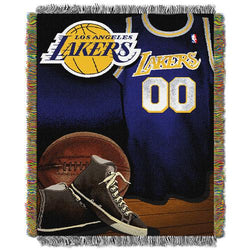 Los Angeles Lakers NBA Woven Tapestry Throw (Vintage Series) (48x60