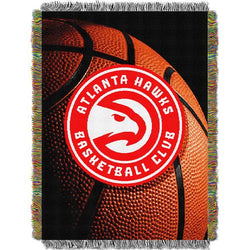 Atlanta Hawks NBA Woven Tapestry Throw (48x60