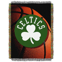 Boston Celtics NBA Woven Tapestry Throw (48x60