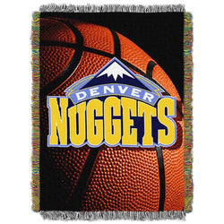 Denver Nuggets NBA Woven Tapestry Throw (48x60