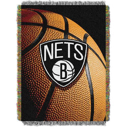 Brooklyn Nets NBA Woven Tapestry Throw (48x60