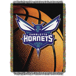 Charlotte Hornets NBA Woven Tapestry Throw (48inx60in)