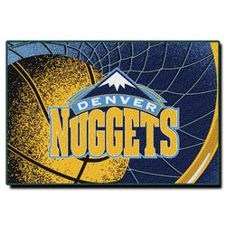 Denver Nuggets NBA Tufted Rug (59x39