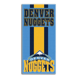 Denver Nuggets NBA Zone Read Cotton Beach Towel (30in x 60in)