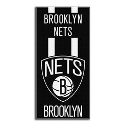 Brooklyn Nets NBA Zone Read Cotton Beach Towel (30in x 60in)
