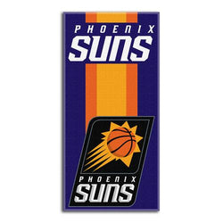 Phoenix Suns NBA Zone Read Cotton Beach Towel (30in x 60in)