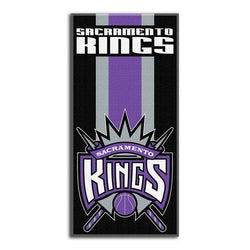 Sacramento Kings NBA Zone Read Cotton Beach Towel (30in x 60in)