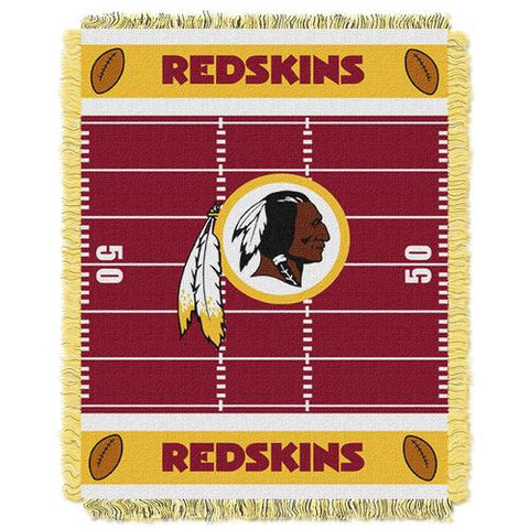 Washington Redskins NFL Triple Woven Jacquard Throw (Field Baby Series) (36x48
