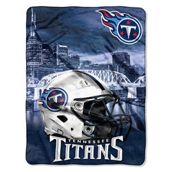 Tennessee Titans NFL Silk Touch Throw (Heritage Series) (60inx80in)