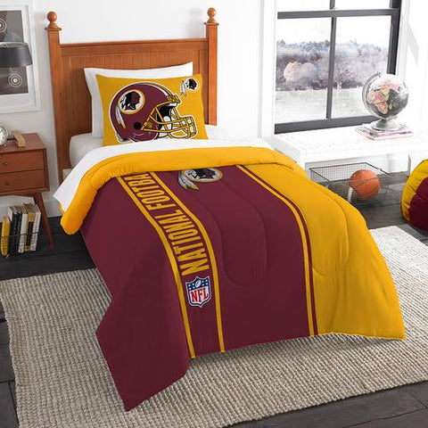 Washington Redskins NFL Twin Comforter Set (Soft & Cozy) (64 x 86
