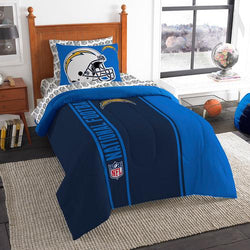 San Diego Chargers NFL Twin Comforter Bed in a Bag (Soft & Cozy) (64in x 86in)