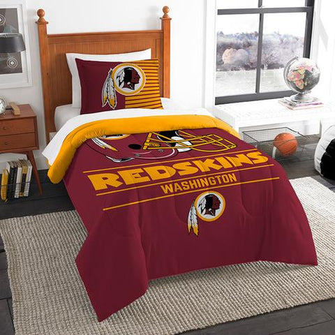Washington Redskins NFL Twin Comforter Set (Draft Series) (64 x 86