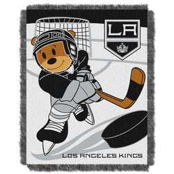 Los Angeles Kings NHL Triple Woven Jacquard Throw (Score Baby Series) (36x48