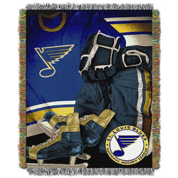 St. Louis Blues NHL Woven Tapestry Throw (Vintage Series) (48x60