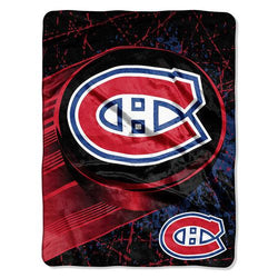 Montreal Canadiens NHL Micro Raschel Blanket (46in x 60in)