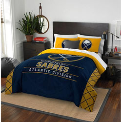 Buffalo Sabres NHL Full Comforter Set (Draft Series) (86 x 86