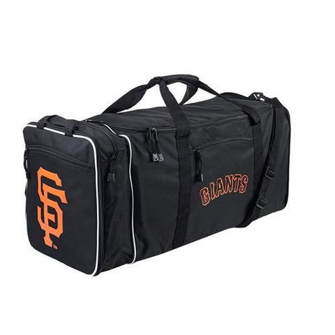 San Francisco Giants MLB Steal Duffel Bag (Black)
