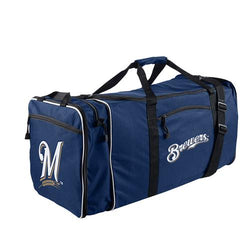 Milwaukee Brewers MLB Steal Duffel Bag (Navy)