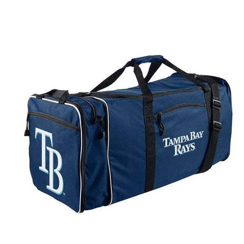 Tampa Bay Rays MLB Steal Duffel Bag (Navy)