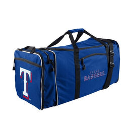 Texas Rangers MLB Steal Duffel Bag (Navy)