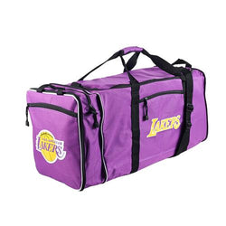 Los Angeles Lakers NBA Steal Duffel Bag (Purple)