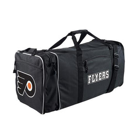 Philadelphia Flyers NHL Steal Duffel Bag (Black)