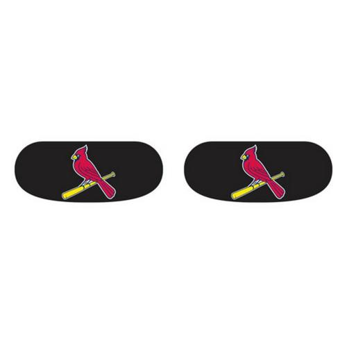 Saint Louis Cardinals St. Eye Black Vinyl Stickers 3 Pack