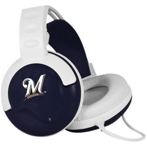 Pangea Brands Fan Jams MLB Headphones - Milwaukee Brewers